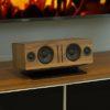 SoundXtra Universele center speaker standaard zwart