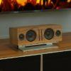 SoundXtra Universele center speaker standaard zilver